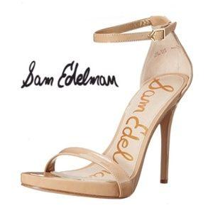 🆕Sam Edelman Eleanor Nude Patent High Heels